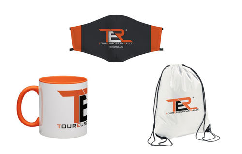 "TER TRIO KIT PROMOTION: TER ""Cup"" + TER ""Official Mask"" + TER ""Rally Fan Bag"""